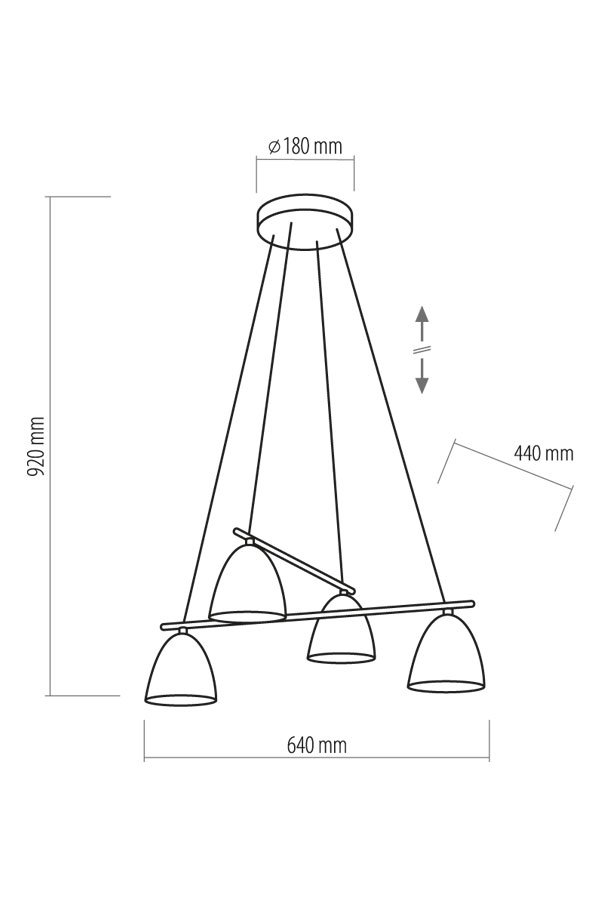 Люстра TK LIGHTING 12174